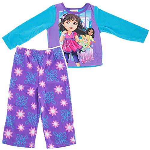 Dora The Explorer Pajamas For Toddler Girls Christmas
