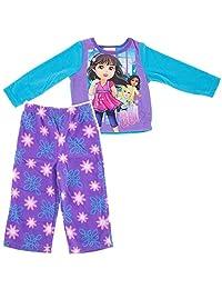 Nickelodeon Little Girls' Dora and Friend's Pajama Set (2T)