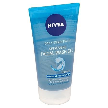 nivea purifying wash gel