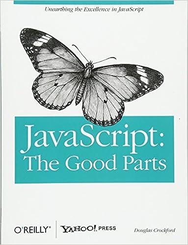 Javascript The Good Parts Douglas Crockford 0636920517740 Amazon