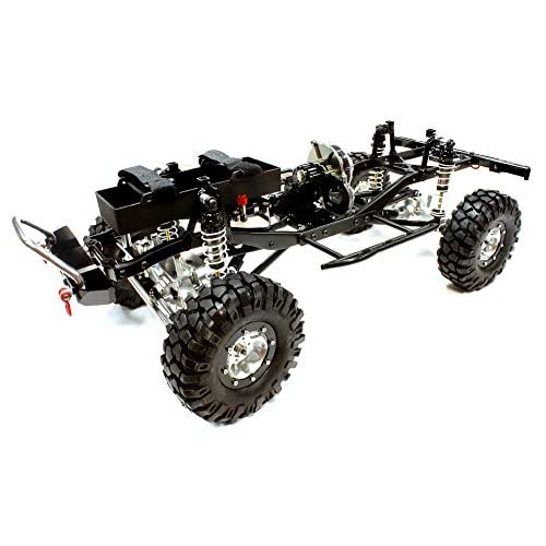Integy RC Model Hop-ups C25769BLACKT1 Billet Machined 1/10 Size TR305 Trail Roller G6 4WD Off-Road Scale Crawler ARTR