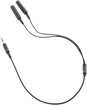 Gazechimp Câble Y Jack Stéréo 3.5mm Adaptateur