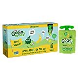 GoGo squeeZ Applesauce on the Go, Apple Banana, 3.2 Ounce Portable BPA-Free Pouches, Gluten-Free, 12 Total Pouches