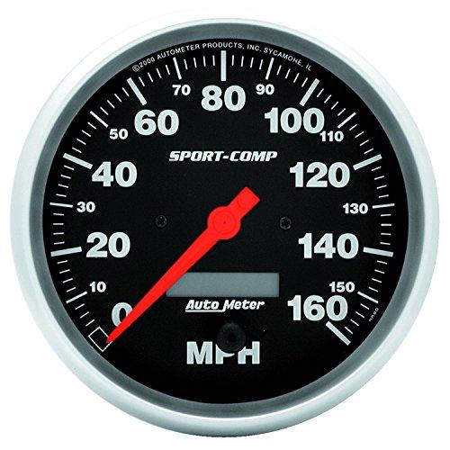 Auto Meter 3989 Sport-Comp Electric Programmable Speedometer