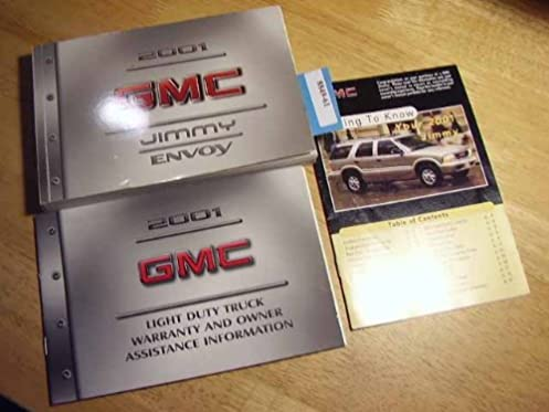 2001 gmc jimmy envoy owners manual gmc amazon com books rh amazon com 2000 gmc jimmy owners manual pdf 2000 gmc jimmy owners manual