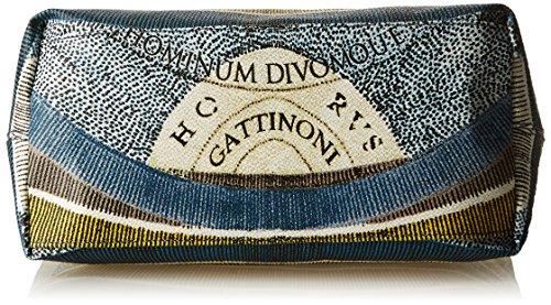 a Luna Donna 13x27x29 Blu L Spalla x Gattinoni cm H W x Borsa Gacpu0000088 nXZHqIOE