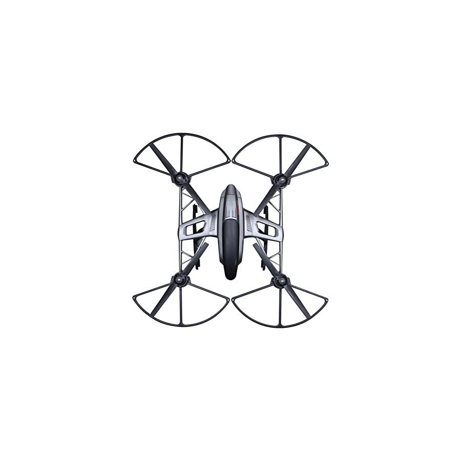 SKYREAT Snap On/off Prop Guards for Yuneec All Versions Q500 4K Q500+ Typhoon Quadcopter Tool Free Quick Release Quick Disconnect Propeller Protector