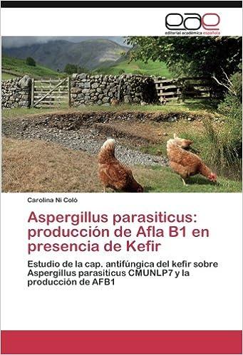 Aspergillus parasiticus: producción de Afla B1 en presencia de Kefir: Estudio de la cap. antifúngica del kefir sobre Aspergillus parasiticus CMUNLP7 y la ...