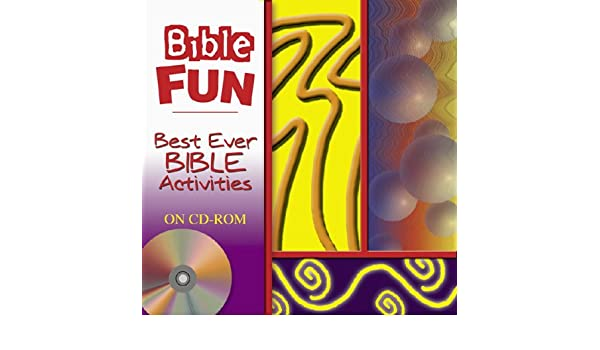 Best Ever Bible Activity Worksheets On CD-ROM: 9780801044656 ...