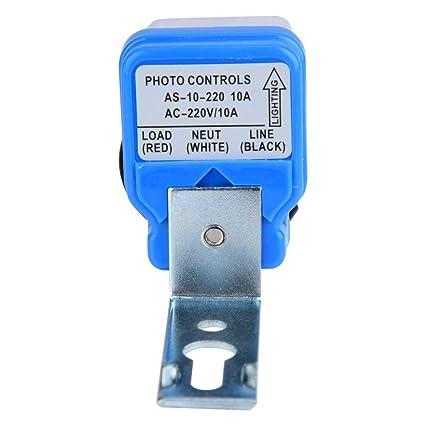 Amazon.com: Sensor de control de luz de encendido/apagado ...