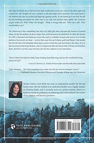 The Shattering Marsha Barth 9781627466509 Amazon Books