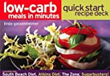 Low-Carb Meals in Minutes Quick Start Recipe Deck, Linda Gassenheimer, 1579595340