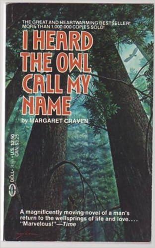 i heard the owl call my name summary