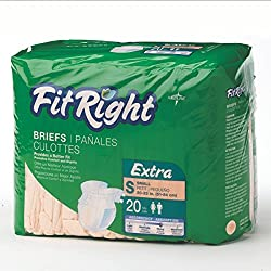 Medline Fitextrasmz Fitextra Small Adult Brief (Pack Of 20)
