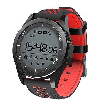 STEAM PANDA Relojes Inteligentes para Hombres 50 m Profundidad Impermeable Movimiento Fitness/Dial Giratorio/