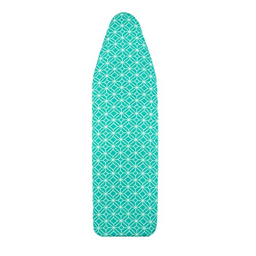 Deluxe Ironing Board Cover and Pad,Scorch Resistant,15″×54″,Natural Turquoise by Generic