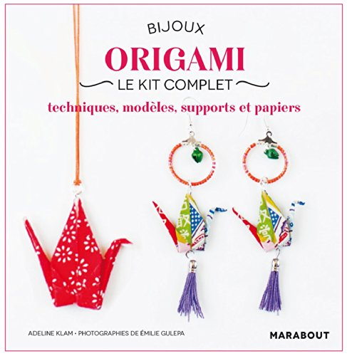 Bijoux origami, le kit complet