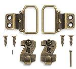 HangZ Flat Mount 2-Hole D-Ring Picture Hanger Kit