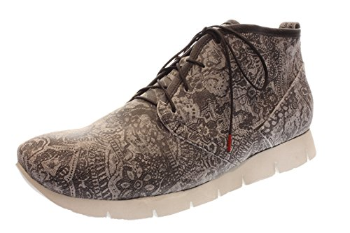 Hombre Zapatos planos schwarz/kombi negro, (SCHWARZ/KOMBI) 80606-09