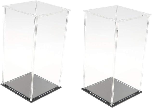 D DOLITY - Caja de presentación para Figuras de Anime (Modelo de Peluche, etc, 2 Unidades): Amazon.es: Hogar