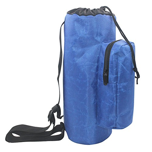 Oxygen Cylinder Tank Backpack, Blue Waterproof Oxygen Backpacks for Men with Durable 3mm Pearl Cotton Shockproof YQPD02
