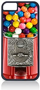 Gumball Machine-Up-Close- Case for the Apple Iphone 6 Plus Only-Hard Black Plastic Outer Shell by runtopwell