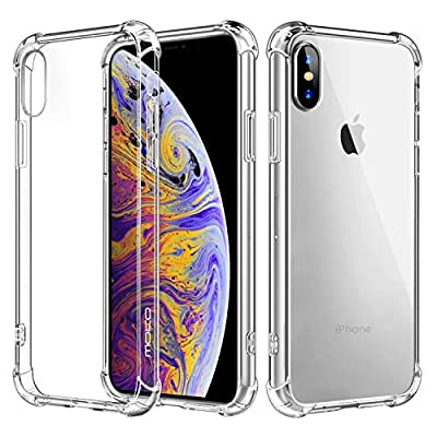 MoKo Compatible with iPhone Xs Case/iPhone X Case, Crystal Clear Reinforced Corners TPU Bumper and Anti-Scratch Hard Cover Fit with Apple iPhone Xs 2018 / iPhone X 2017 5.8 Inch - Crystal Clear - 4007705 , B075684SDY , 454_B075684SDY , 8.99 , MoKo-Compatible-with-iPhone-Xs-Case-iPhone-X-Case-Crystal-Clear-Reinforced-Corners-TPU-Bumper-and-Anti-Scratch-Hard-Cover-Fit-with-Apple-iPhone-Xs-2018--iPhone-X-2017-5.8-Inch-Crystal-Clear-454_B075684SDY , u