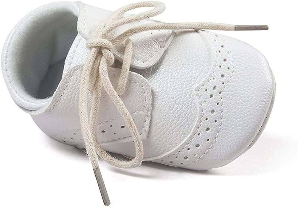 Matt Keely Beb/é Ni/ños ni/ñas Suela Blanda Zapatos Bebe ni/ña Infantil Zapatos con Cordones