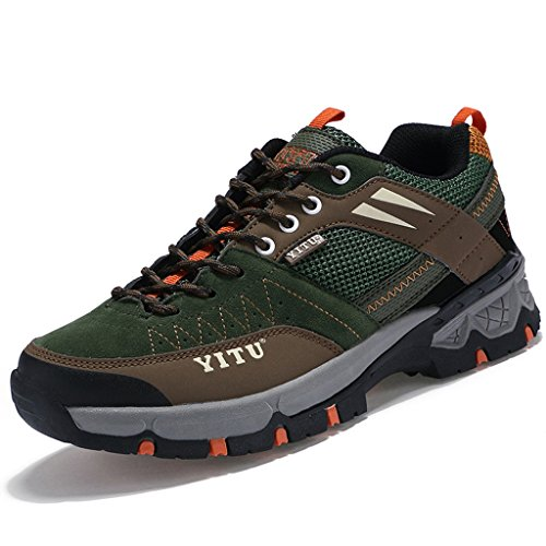 2017 Herbst Rutschfeste Atmungsaktive Sportschuhe Turnschuhe Paare Schuhe Wasserdichte Stiefel 37-44 Army green