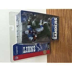 BARRY SANDERS Detroit Lions Legends NFL McFARLANE Action Figure