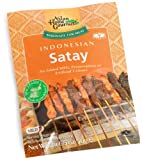 Asian Home Gourmet Indonesian Satay (Mild), 1.75-Ounce Packages (Pack of 12)