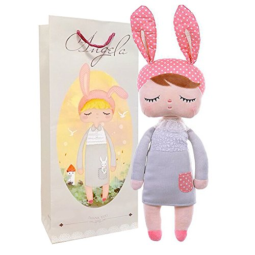Me Too Angela Stuffed Bunny Baby Plush Rabbit Doll Toy Gifts