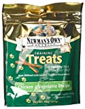 Newman's Own Organic Dog Training Treats, Chicken & Vegetable, 4 oz Review