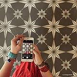 Star Tile Stencil - Painting Stencils - Paint