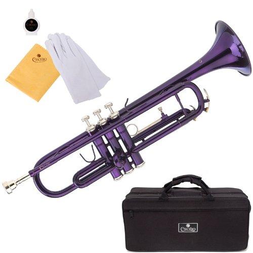 Cecilio Purple Lacquered Bb Trumpet - TT-280PL