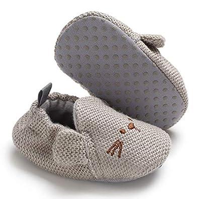 Amazon.com: BiBeGoi Zapatillas de suela suave ...