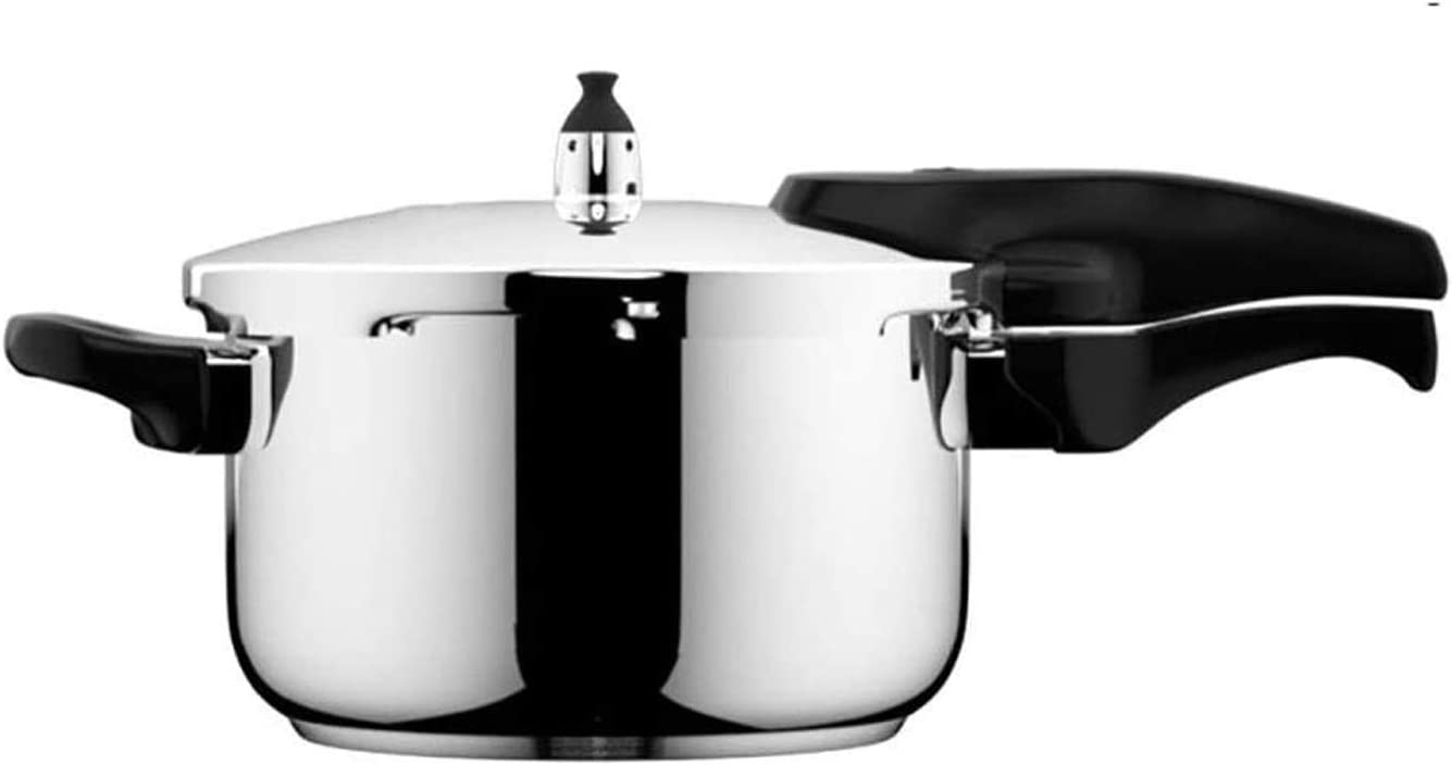 Z-COLOR Quick Stainless Steel Pressure Cooker,Triple Safety System and Two Cooking Programmes, Suitable for All Cookers Including Induction (7 litres)