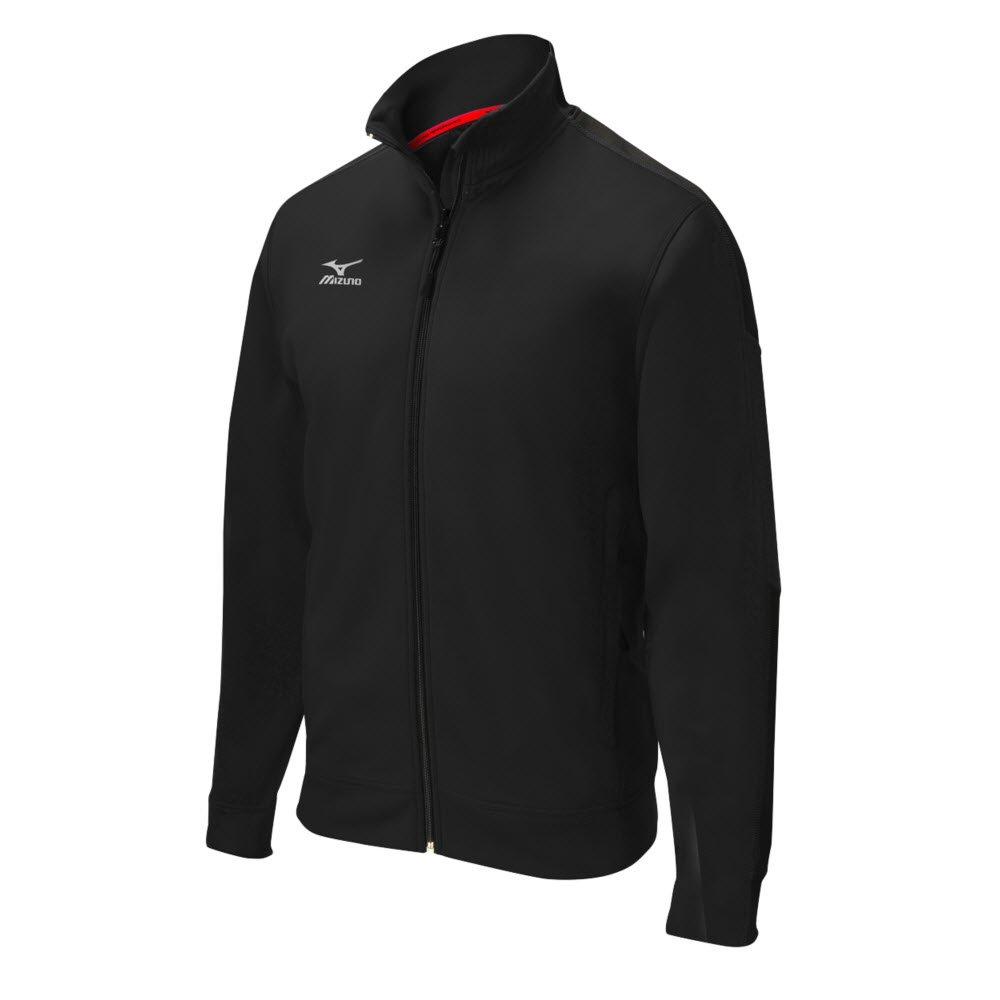 Mizuno Elite Thermalジャケット B014QOMJ7M 3L|ブラック ブラック 3L