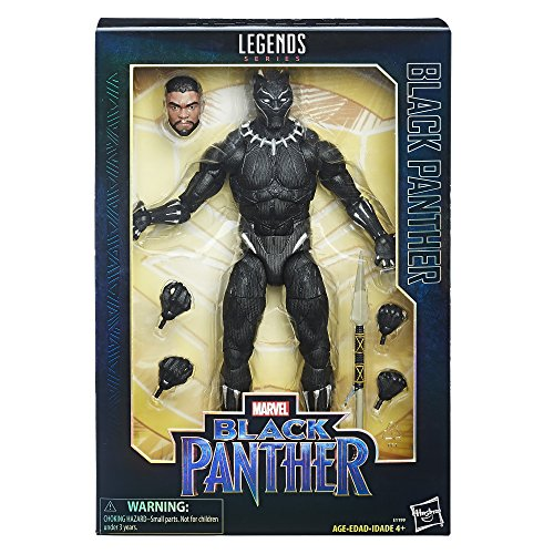 Marvel Black Panther Legends Series Black Panther, 12-inch - E1199
