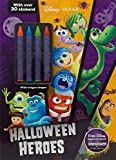 Disney Pixar Halloween Heroes (Color & Activity With Crayons)