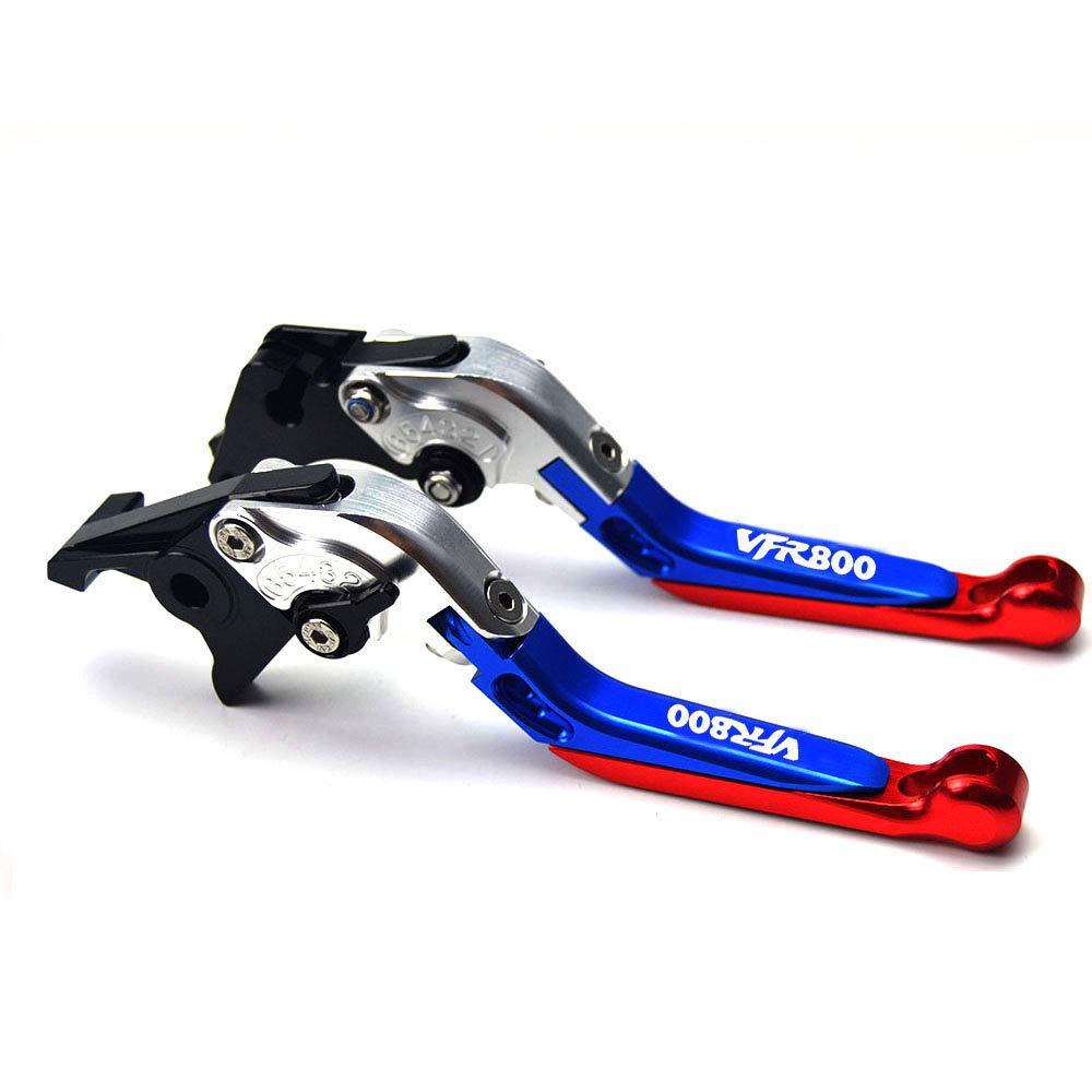 CNC extensible pliable R/églage de La moto leviers de frein dembrayage pour Honda Vfr800/1998/1999/2000/2001