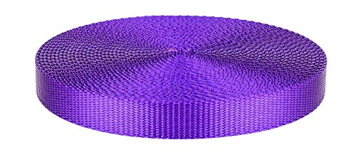 3/4 Inch Purple Heavy Plus Nylon Webbing Closeout, 20 Yards by Unknown (Image #1)