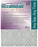 Accumulair Diamond 19x19x1 (Actual Size) MERV 13 Air Filter/Furnace Filters (2 pack)