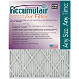 17-1/4x17-1/4x1 (Actual Size) Accumulair Diamond Filter MERV 13 4-Pack