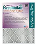 Accumulair Diamond 12x26x1 (11.5x25.5) MERV 13 Air Filter/Furnace Filters (6 pack)