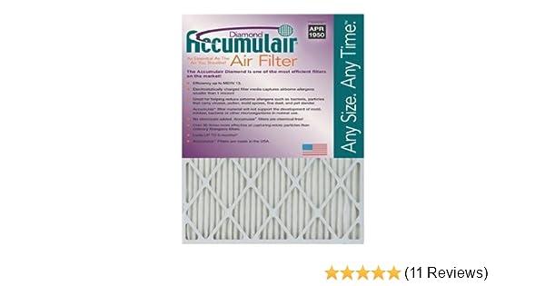19.5x23.5x5.88 Odor eliminating Air Filter//Furnace Filter Accumulair Carbon 20x24x6