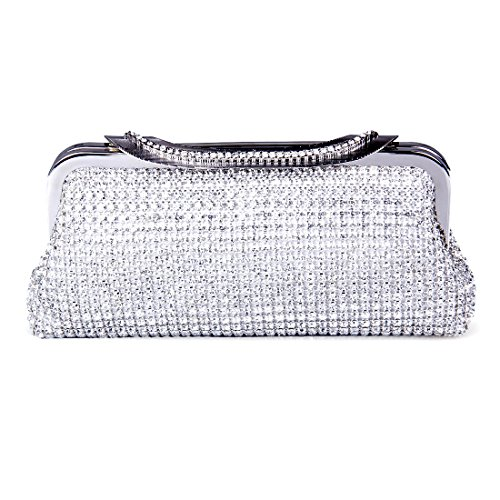 ECOSUSI-Ladies-Clutches-Purses-Crystal-Rhinestone-Party-Evening-Bags