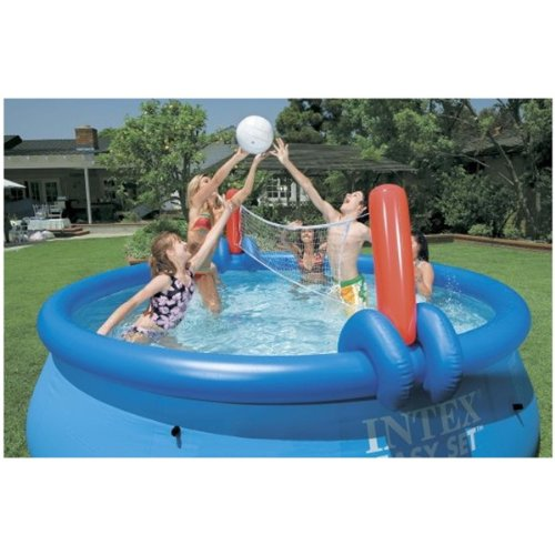 Splash Basketball Volleyball (Volleyball and Basketball Set for 15' or 18' Easy Set Pools)