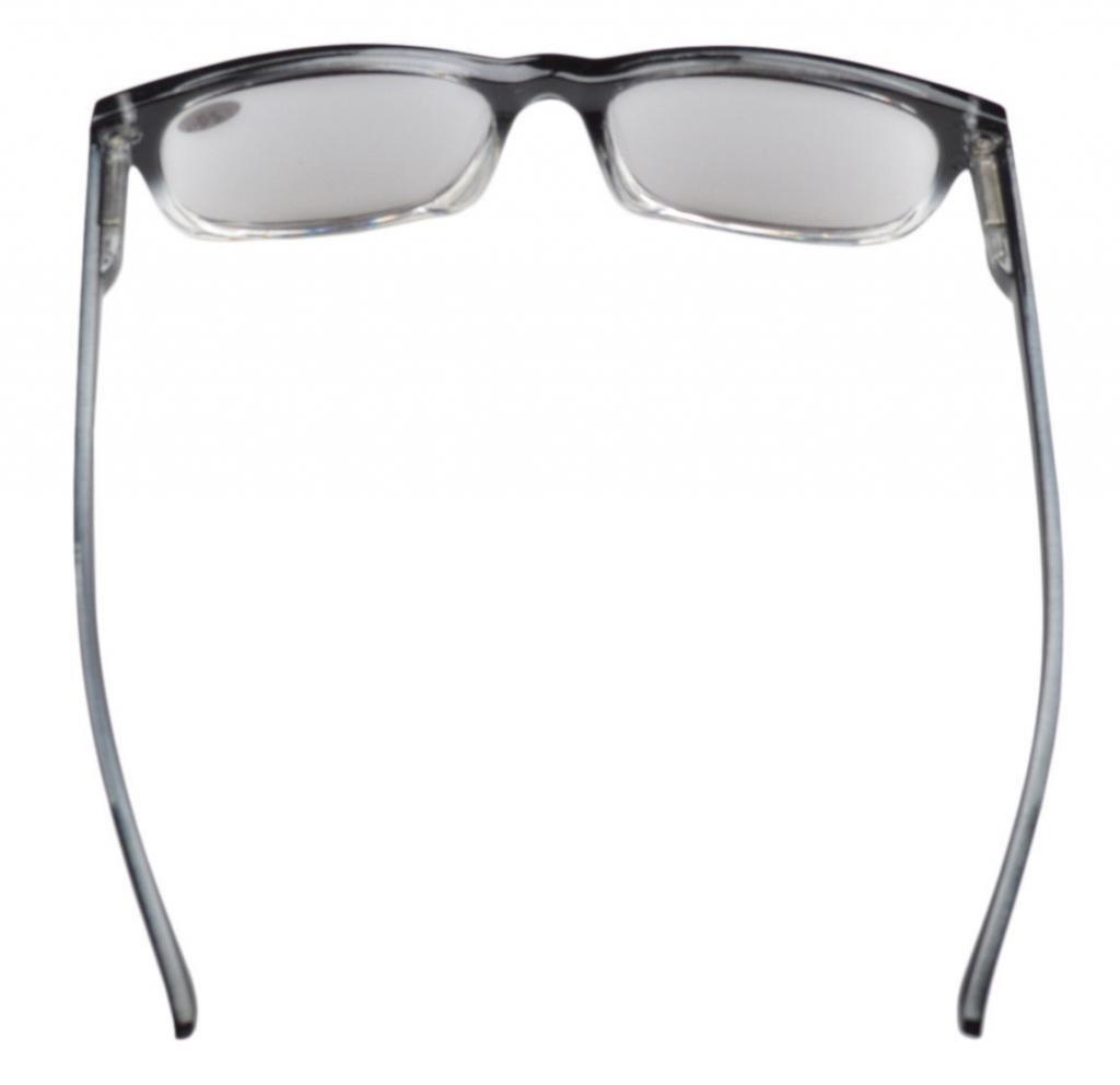 Eyekepper Gafas de sol de lectura retro con bisagras de resorte lentes grises +1.00