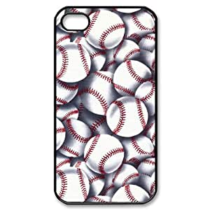 Super Eastar iPhone 4S Cover,Protective Hard TPU Guard Case for Apple iPhone 4S,Baseball Art
